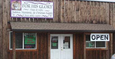 For His Glory store in Klamath Falls